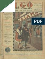Algo (Barcelona. 1929). 30-3-1929, n.º 1