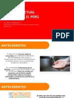 Situación Actual Del Agua en El Perú