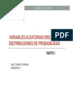 DistribucionesProbabilidadDiscreta I