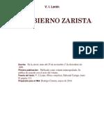 El Gobierno Zarista