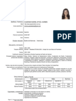 Curriculum Vitae Europeo de Mari Carmen Cuadrado Barba