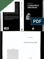 2011_elEspacioPublicoComoIdeologia_manuelDelgado.pdf