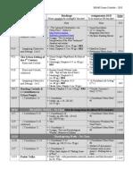 BH448 2010 Schedule