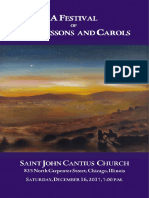 2017 Lessons and Carols Booklet