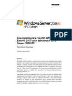 Accelerating Excel 2010 With Windows HPC Server 2008 R2 Beta1 - Final