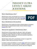 STEMENHANCE ULTRA FREQUENTLY ASKED QUESTIONS.pdf
