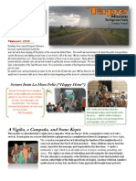 Hagerman Feb 10 Newsletter from Paraguay