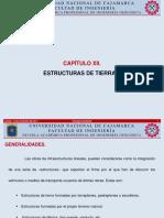 Capitulo 12 y 13 Estructuras de Tierras Reconocimiento y Excavación de Obras Subterráneas.