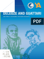 Aesop Ya Booklet Series a Vol 1 Deluze and Guattari Jean Hillier in Conversation With Gareth Abrahams