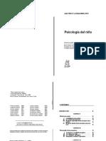 LIBRO Piaget, Jean - Inhelder, Barbel. Psicología del niño