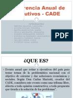 Conferencia Anual de Ejecutivos - CADE
