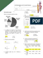 6to Grado Matemáticas.. Resolución