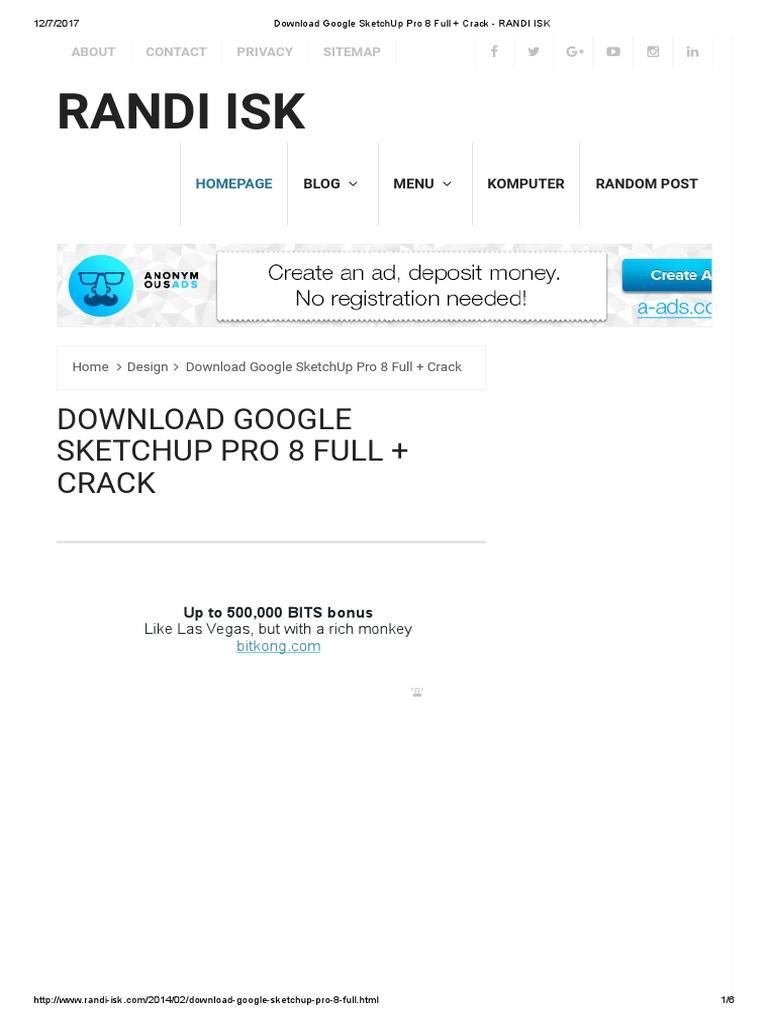 sketchup 2017 download crackeado 32 bits