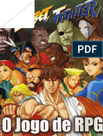 Street Fighter RPG - Livro Básico