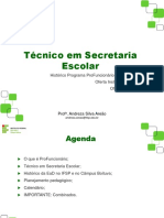 SE2018 - Reunião de Planejamento e Apresentação Do Programa