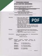 SK Pengurus IDI 2009-2012