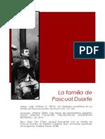 La Familia de Pascual Duarte Dossier