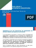 05.12.2016 MOP Observaciones Discrepancia