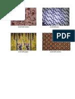 Corak Batik Madura dan corak Batik Jawa