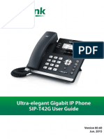 User Guide Yealink SIP-T42G V80_60 (Eng)