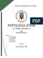SALMONELA PULLOROSIS