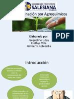 Contaminación Por Agroquímicos