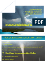 V. Klasifikasi Iklim