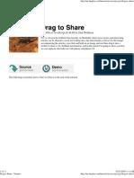 Drag to Share - Nettuts+