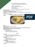 """Micro Empresa """"Cafe con humitas de chocho"""""""