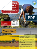 How Do People Value Food? PhD Thesis Defence JL Vivero October 30th 2017