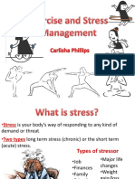 exercise and stress management