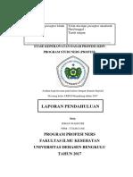 laporan pendahuluan tugas ners stase keperawatan dasar profesi (KDP) dengan demam thypoid