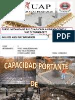 CAPACIDAD PORTANTE