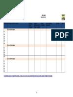 Proposal Compliance Matrix Template