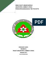 Pedoman Pengorganisasian Tb Dots