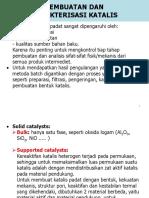 Pembuatan katalis dan karakterisasi.ppt