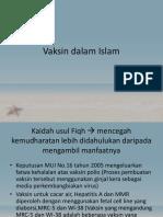 Vaksin Dalam Islam Piti