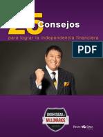 25 consejos para lograr la independencia financiera - Robert Kiyosaki.pdf