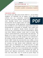 Actividad Ortografía y Gramática