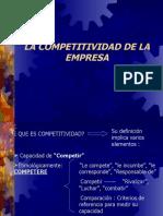Gestion empresarial COMPETITIVIDAD