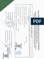 Carta Descriptiva Procesal Civil