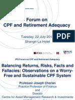 CPF Forum P2 S2 Joseph Cherian CHERIAN Presentation 220714