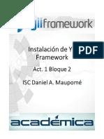 Instalación de YII Framework