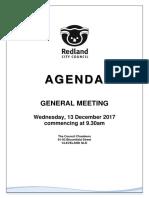 20171213 General Meeting Agenda 13 December 2017 (2)