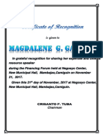 Certificate of Recognition_training