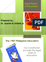 Legal Bases of Education New