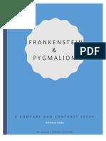 frankenstein   pygmalion