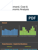 Demand, Cost & Economic Analysis
