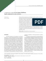 Complicações hepáticas na doença falciforme