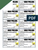 Ticket de Pollada